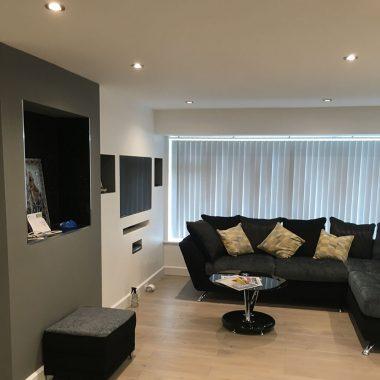 Bathroom & living room renovation (Tilehurst)